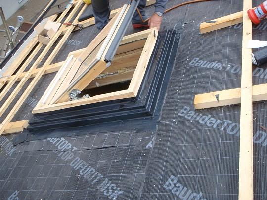 eindeckung mit prefa dachplatten walter kr ckl gmbh. Black Bedroom Furniture Sets. Home Design Ideas